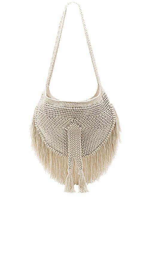 Indah Sesame Bag in Cream
