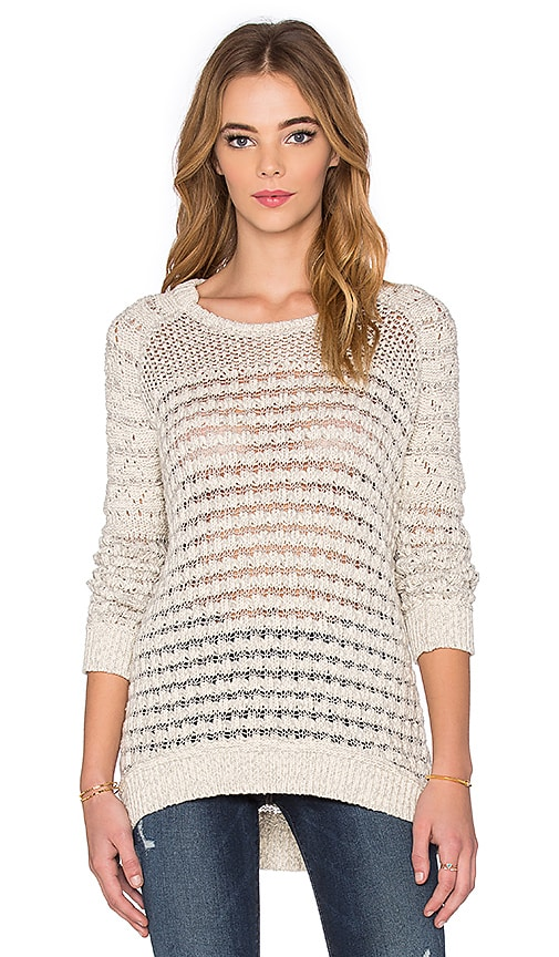 Inhabit Crew Neck Pullover in Gray
