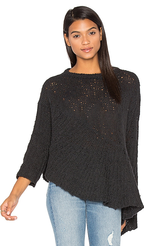 Drape Asymmetrical Sweater
