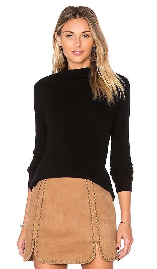 Inhabit Riviera Roll Neck Sweater in Black