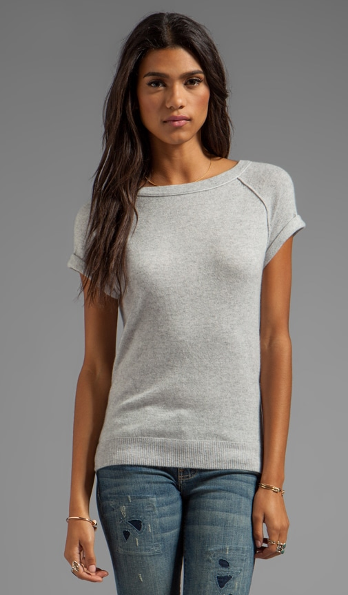 Cashmere Short Sleeve Crew