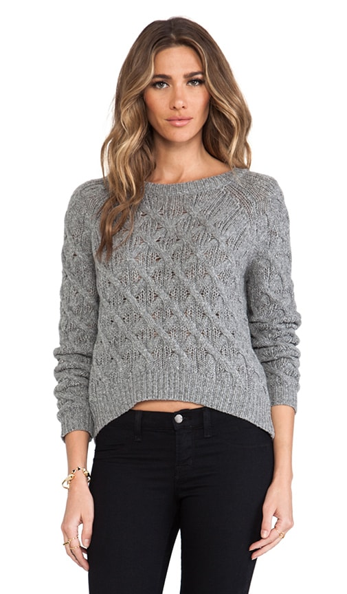 Cashmere Chainette Sweater