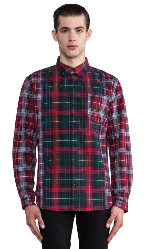 Check Mate Long Sleeve Button Down