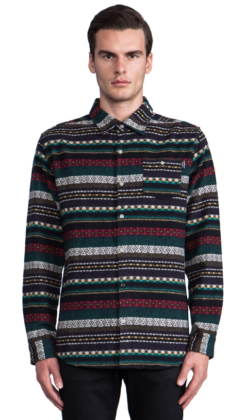 Loom Doom Long Sleeve Button Down