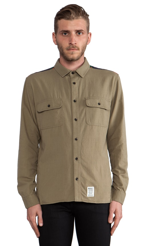 Mountain Fold Button Down