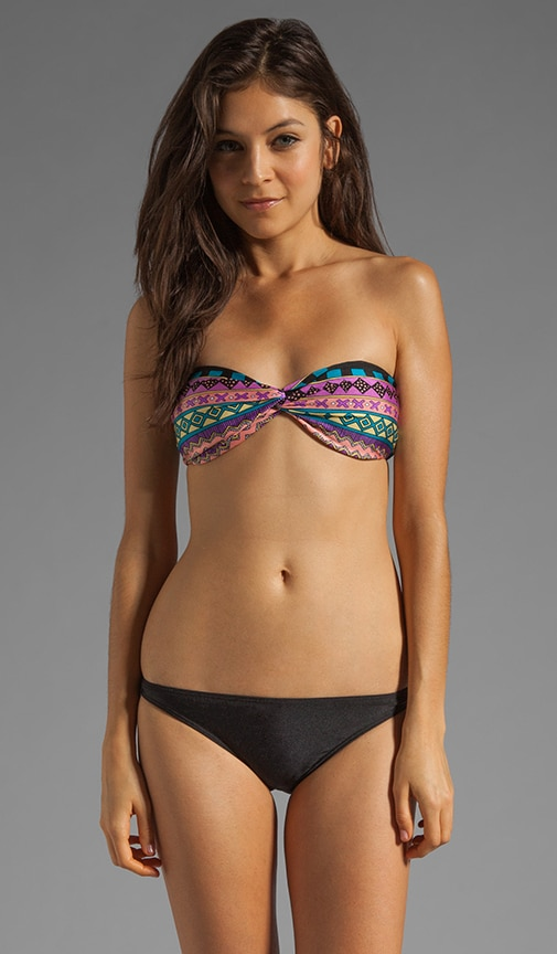 The Huxe Bandeau Bikini Top