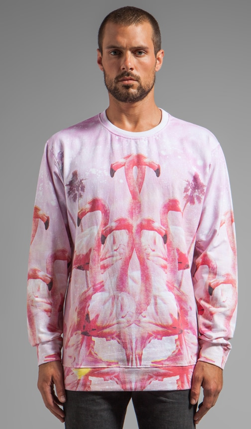 Flamingo in Love Jumper