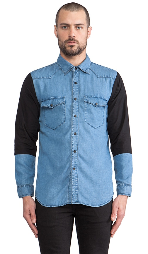 Smooth Chambray Button Down