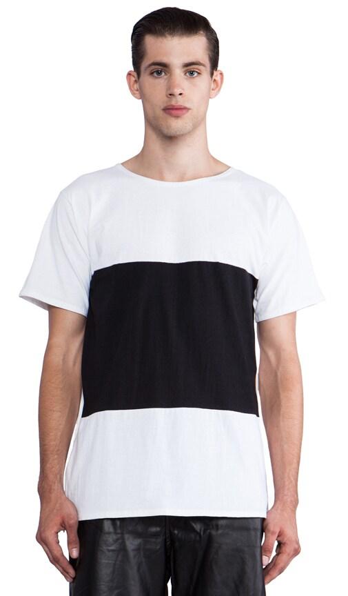W/B Oversized T-Shirt Zipp