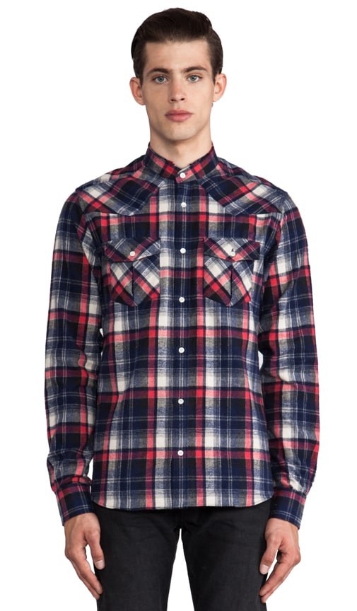 Cys Mock Neck Flannel