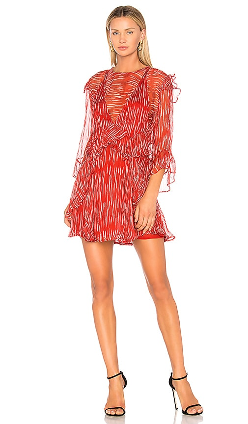 IRO Canyon Dress in Red