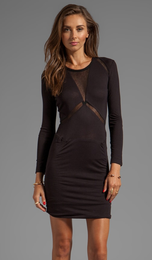 Derova Sheer Cutout Dress