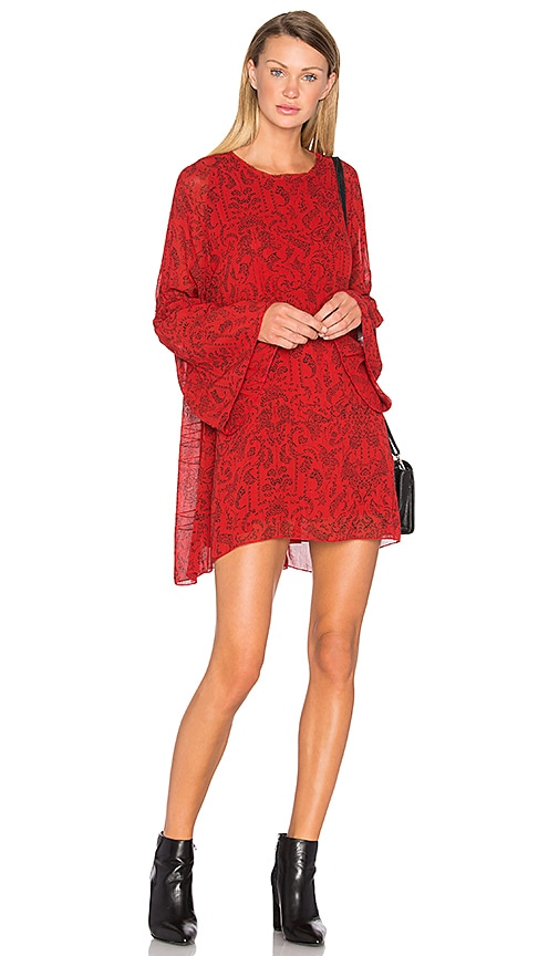 IRO Appoline Dress in Red