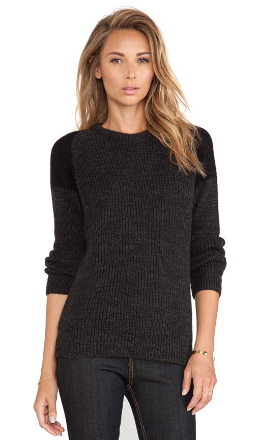 Piper Pullover om Dark Grey