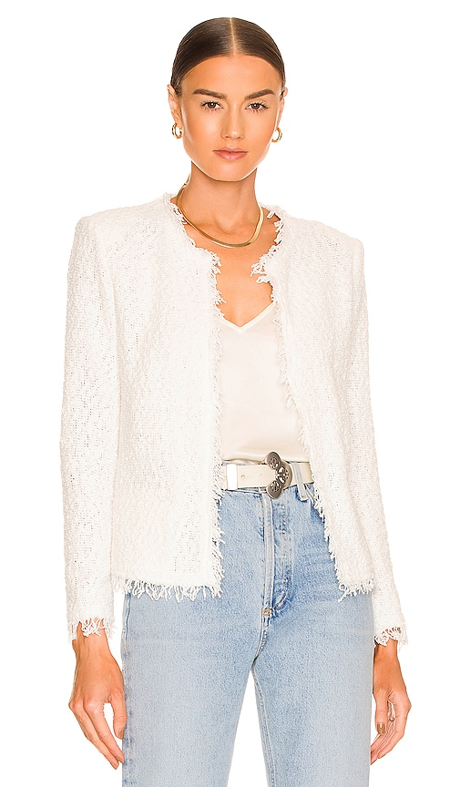 IRO Shavani Jacket in Cream