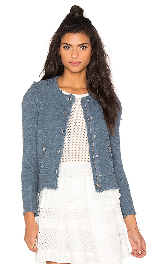 IRO Agnette Jacket in Stone Blue