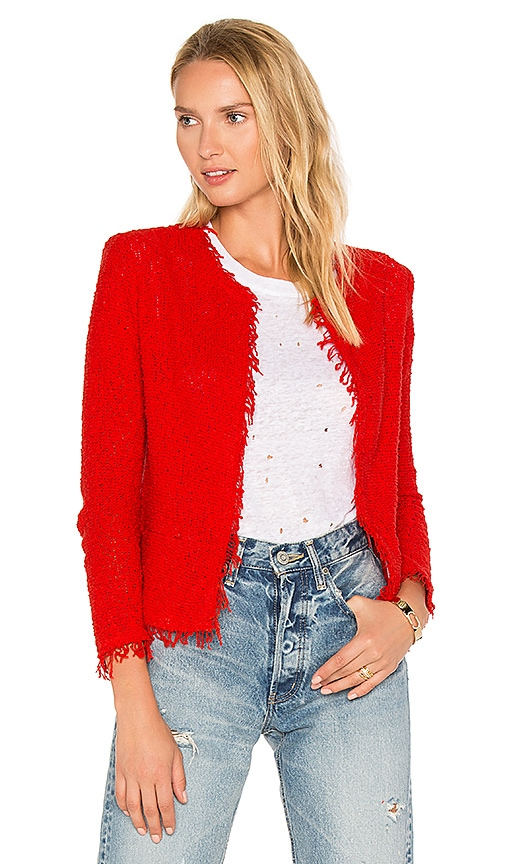IRO Shavani Jacket in Red