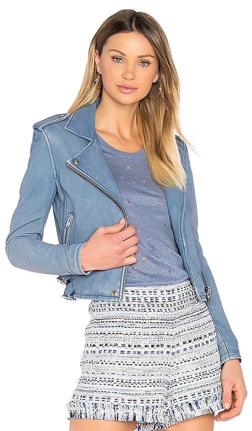 IRO Ashville Jacket in Blue