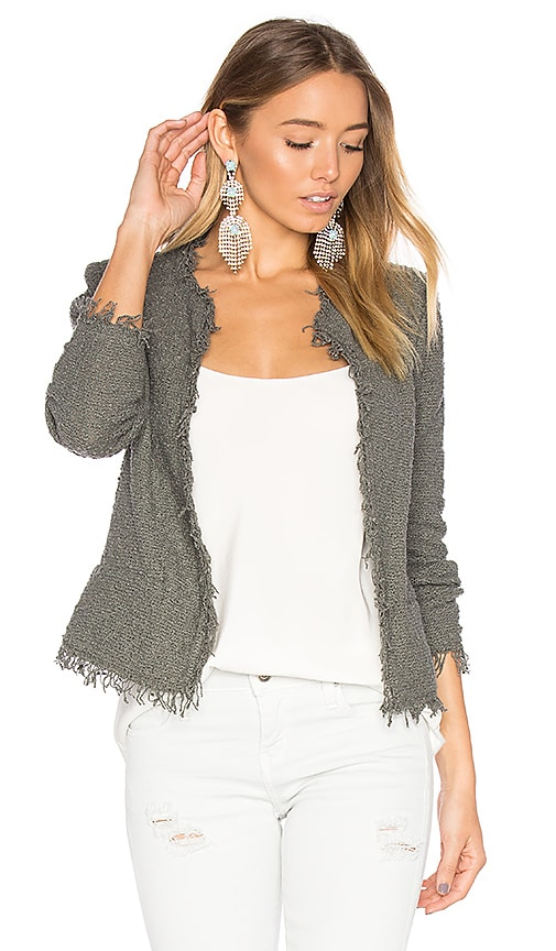IRO Shavani Jacket in Gray