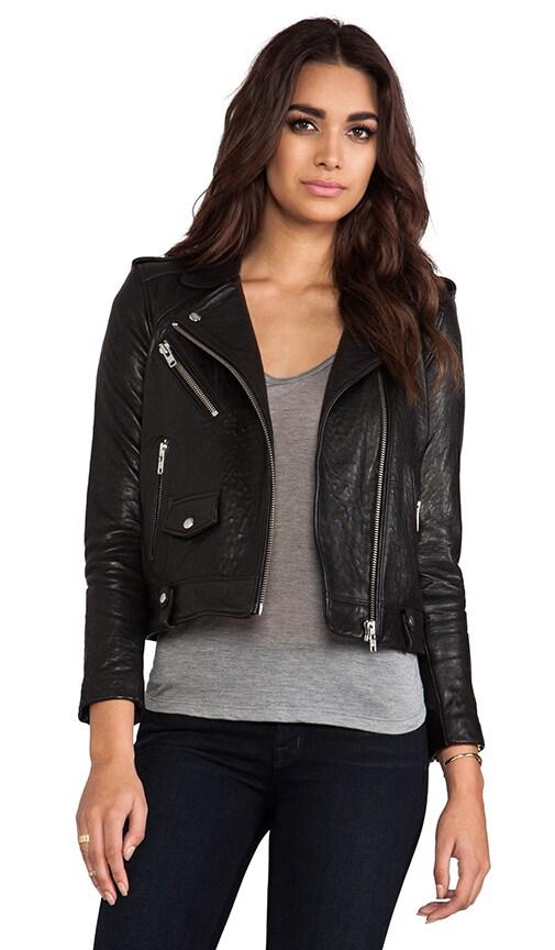 Ebeyna Leather Moto