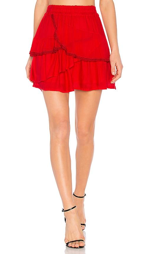 IRO Carmela Skirt in Red