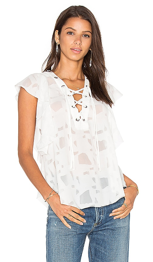 IRO Gilka Top in White