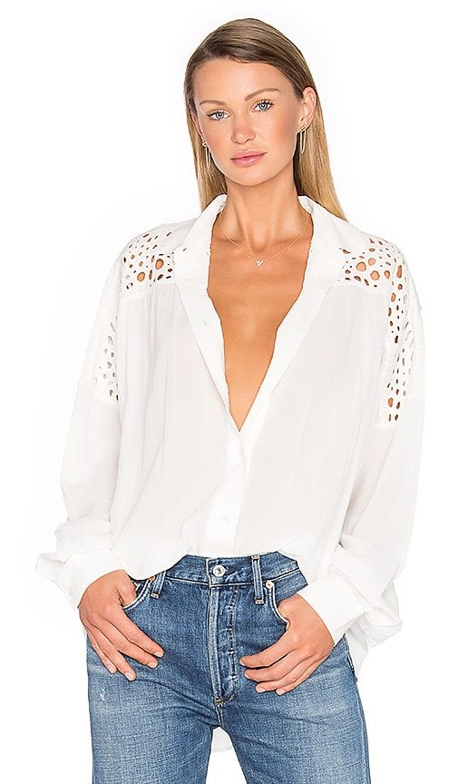 IRO Ornella Top in Ivory