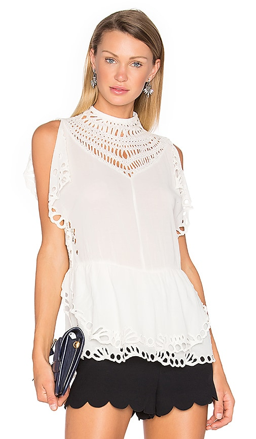 IRO Jala Top in Ivory