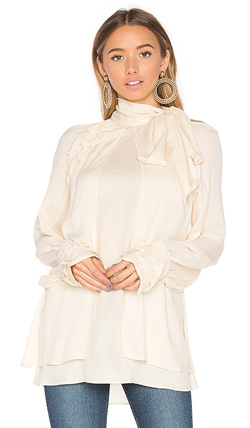 IRO Frejan Blouse in Beige