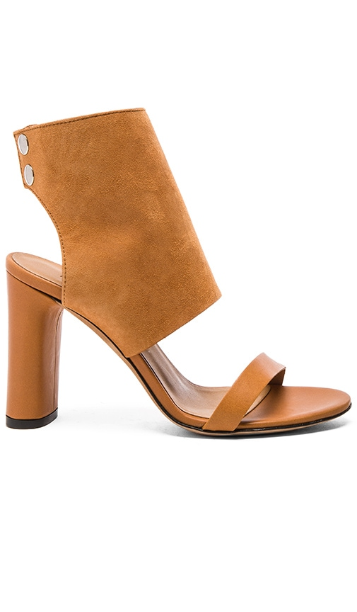 IRO Sils Sandal in Camel & Brown