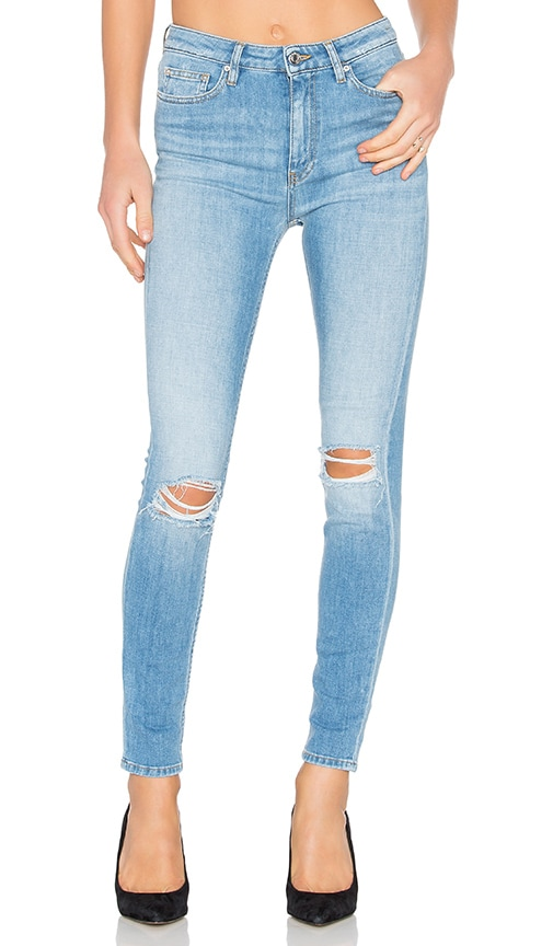 IRO . JEANS Pamela Distressed Skinny in Light Blue