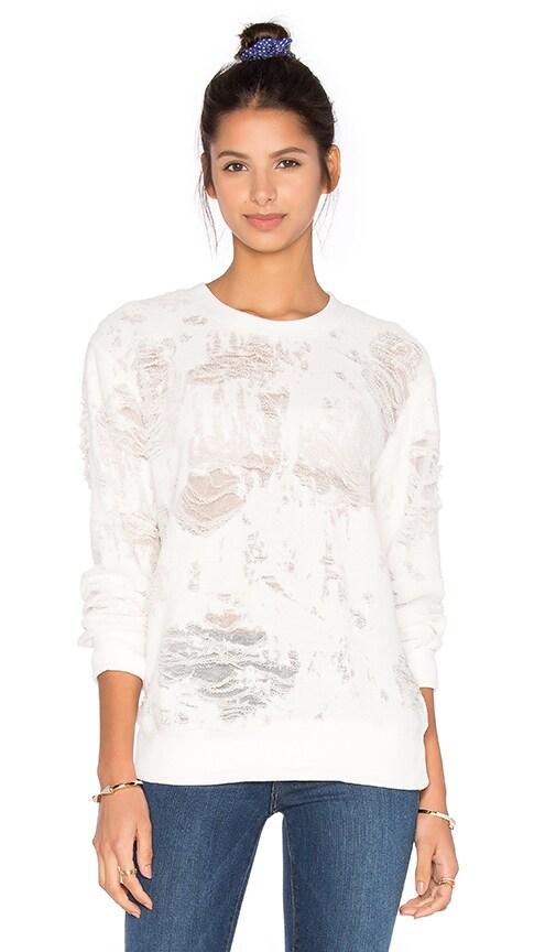 IRO . JEANS Kismet Sweatshirt in White