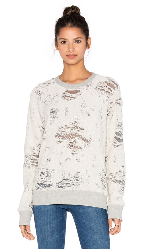 IRO . JEANS Kismet Sweatshirt in Gray