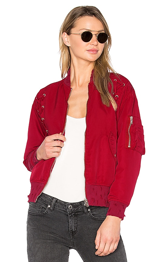 IRO . JEANS Milisa Jacket in Red