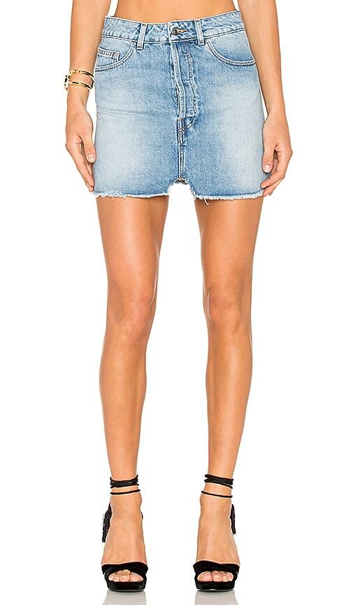 023beef5a4 IRO . JEANS Taig Mini Skirt in Light Denim