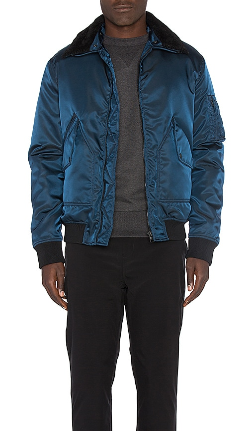 G-1 Aviator Jacket With Sheep Shearling