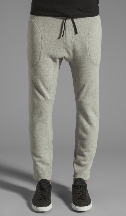 French Terry Sweatpant With Engineered Seams