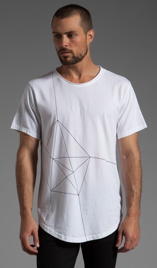 Geo Light Printed T-Shirt
