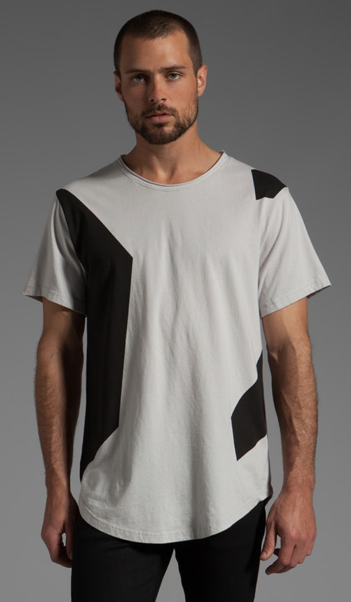 Colorblock Printed T-Shirt