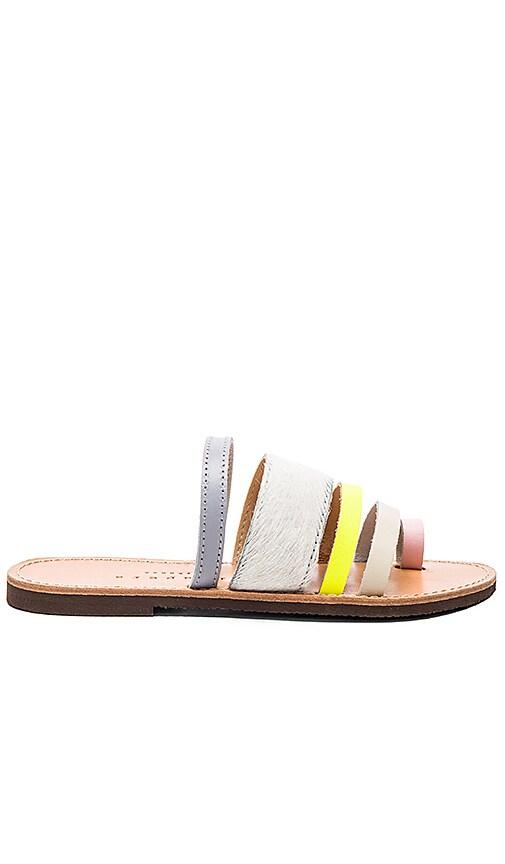 Gerbera Calf Hair Sandal