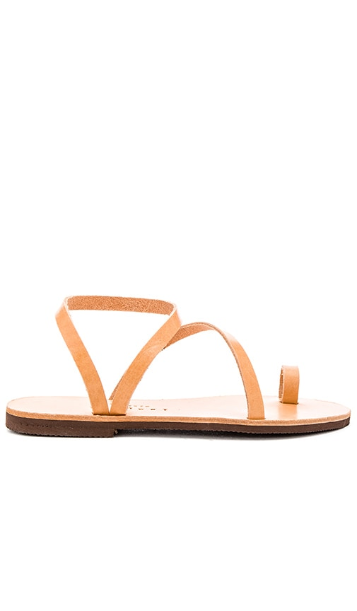 isapera Foam Sandal in Tan