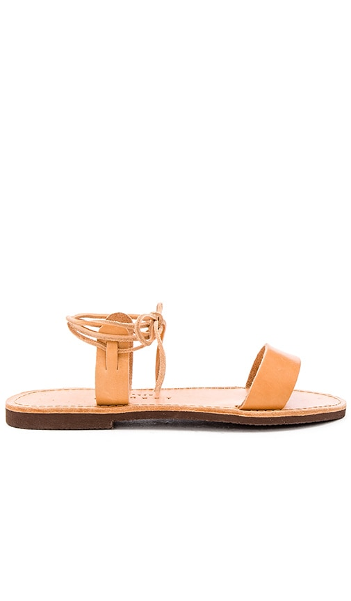 isapera Thyme Sandal in Tan