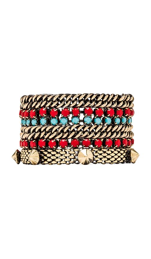 Tribal Studded Bracelet
