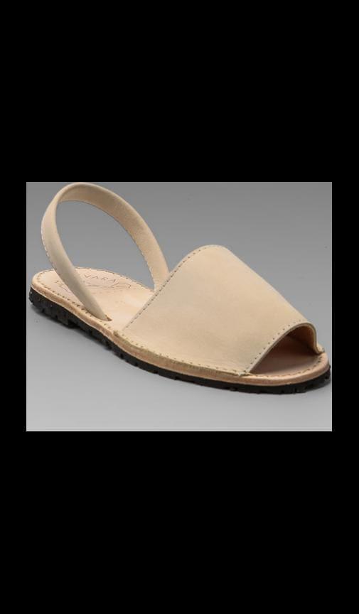 Albarcas Nubuck Sandal