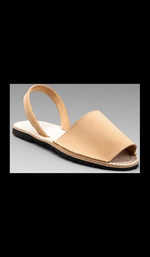 Nubuck Albarcas Sandal
