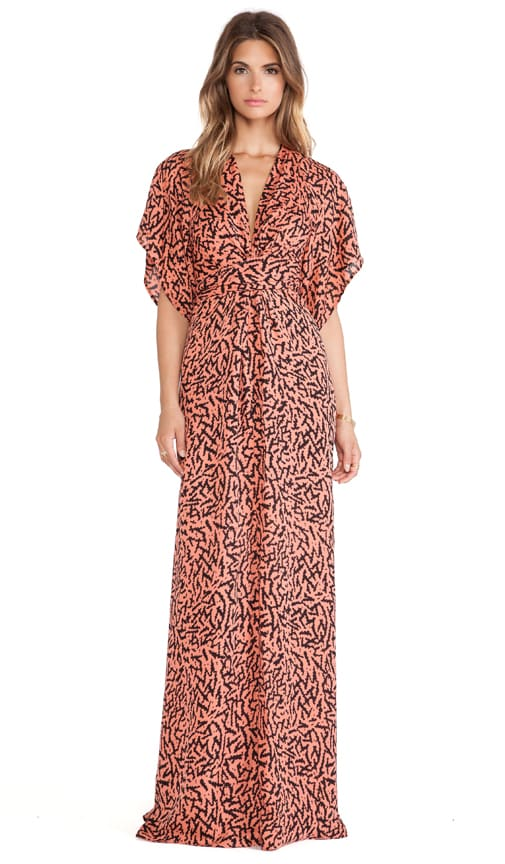 Pollyanna Wrap Maxi Dress