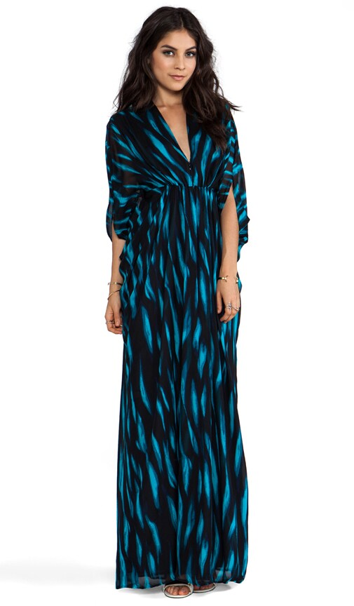 3/4 Sleeve Long Kaftan