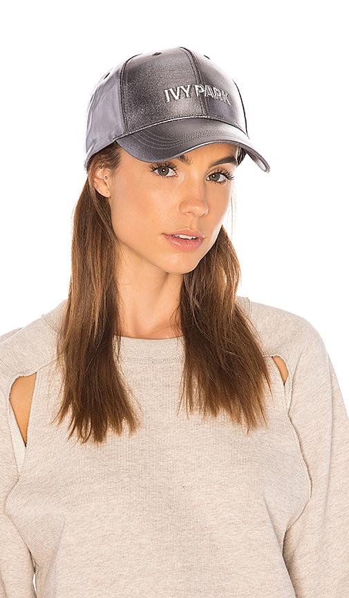 IVY PARK Baseball Cap in Grey