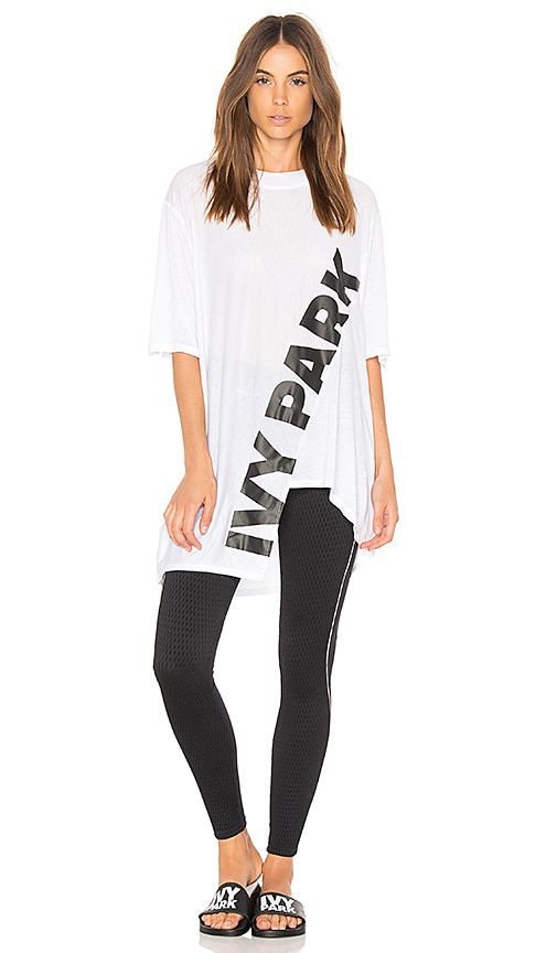 IVY PARK Short Sleeve Tee in White