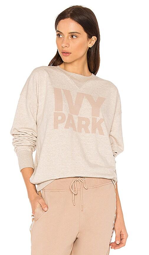 IVY PARK Logo Sweatshirt in Beige